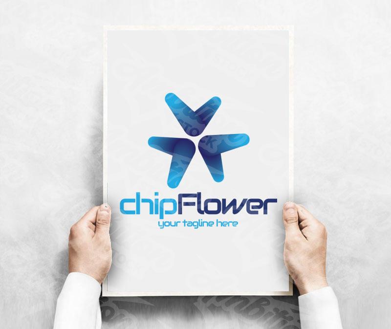 ChipFlower Logo