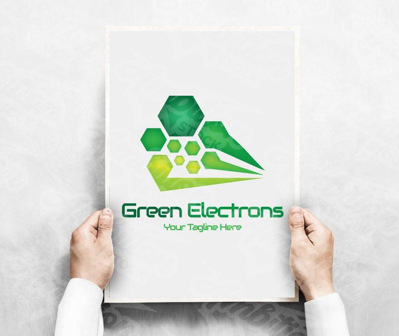 Green Electrons Logo