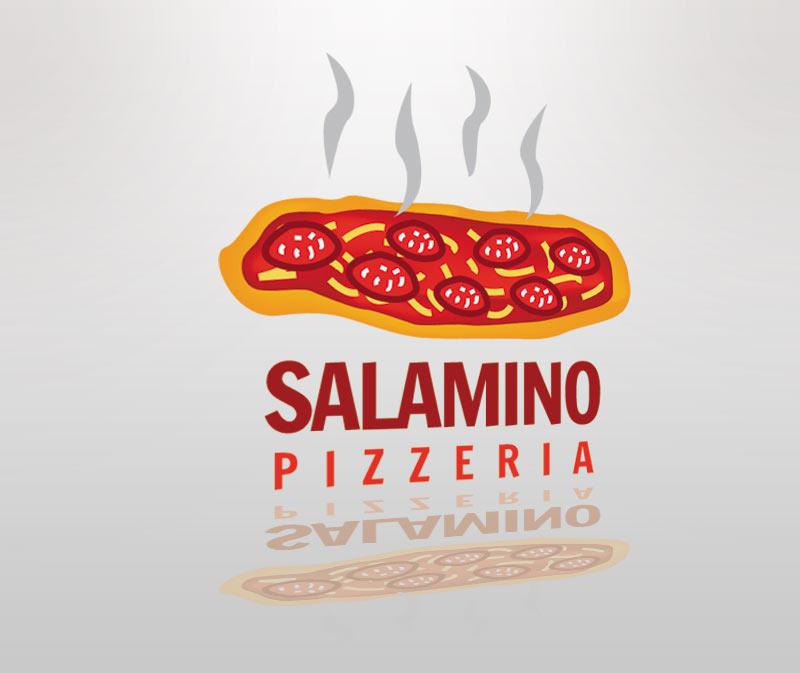 Salamino Pizzeria Logo
