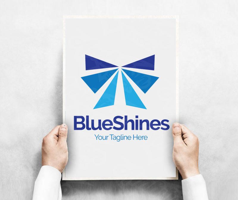 Blue Shines Logo