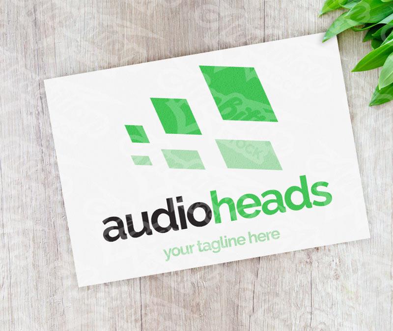 Audio Heads Logo