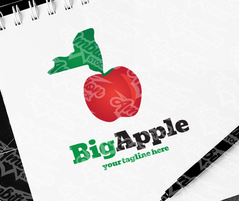 Big Apple New York Logo
