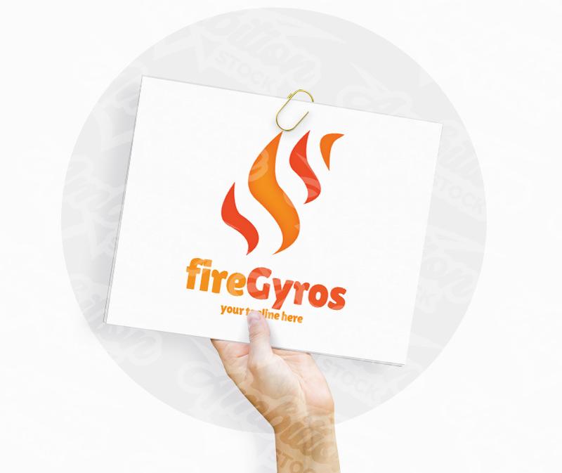 Fire Gyros Logo