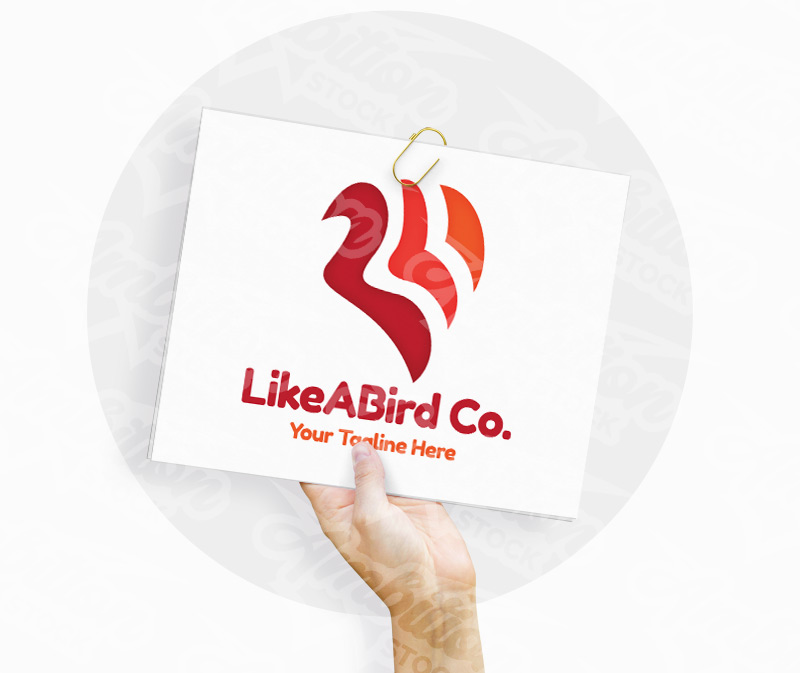Like A Bird Logo