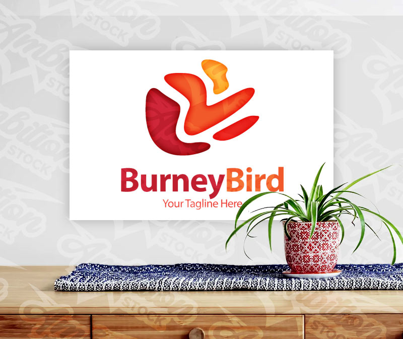 Burney Bird Logo