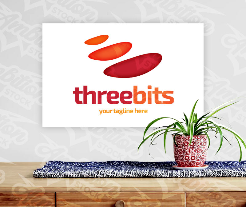 Three Bits Logo