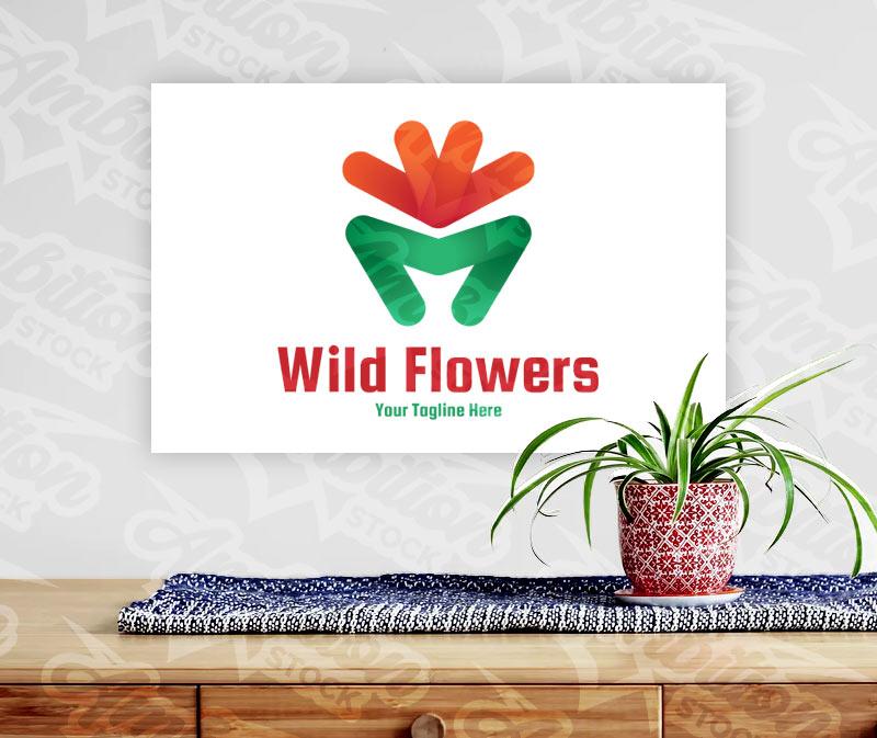 Wild Flowers Logo