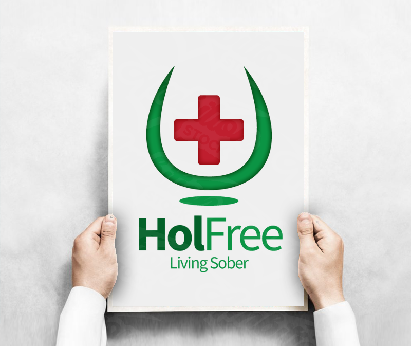 Alcohol Support Group Logo – Hol Free